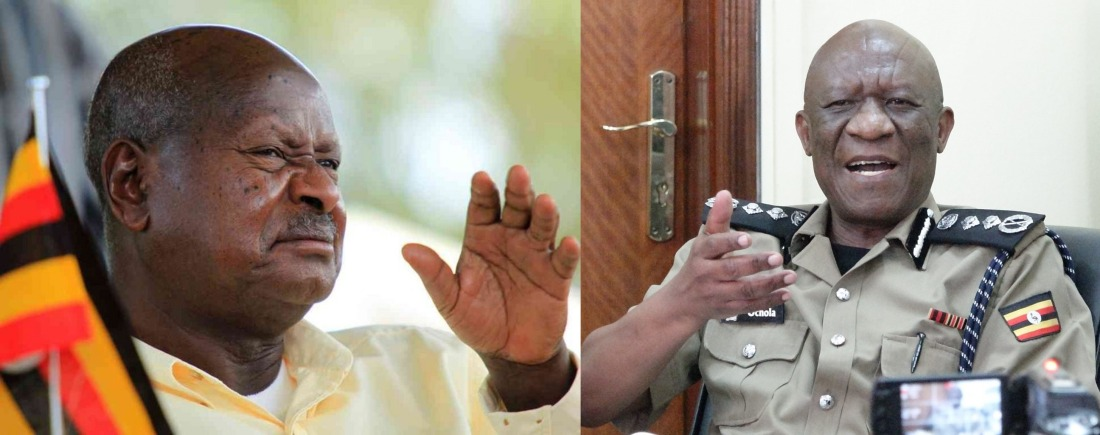 Museveni and Ochola